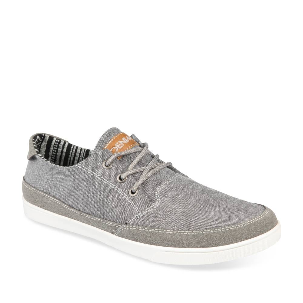 Baskets Gris Denim Side