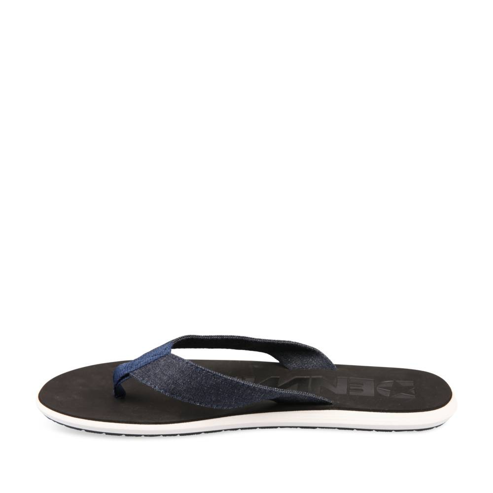 Tongs Bleu Denim Side