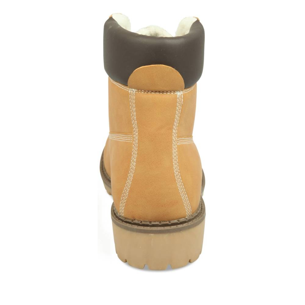 collections Real Vente Pas Cher Bottines plates JAUNE MERRY SCOTT TsW00zRL4