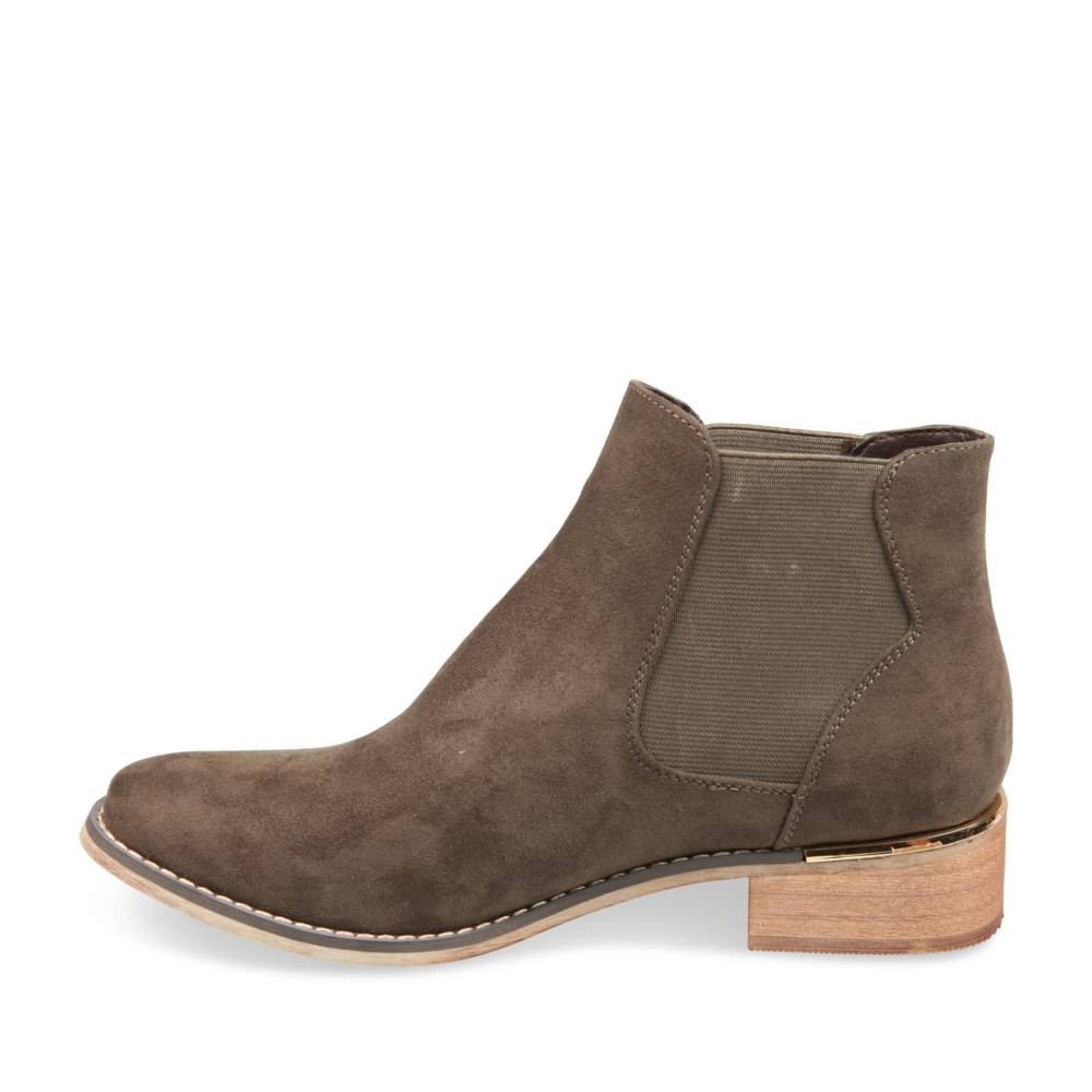 Bottines Vert Merry Scott