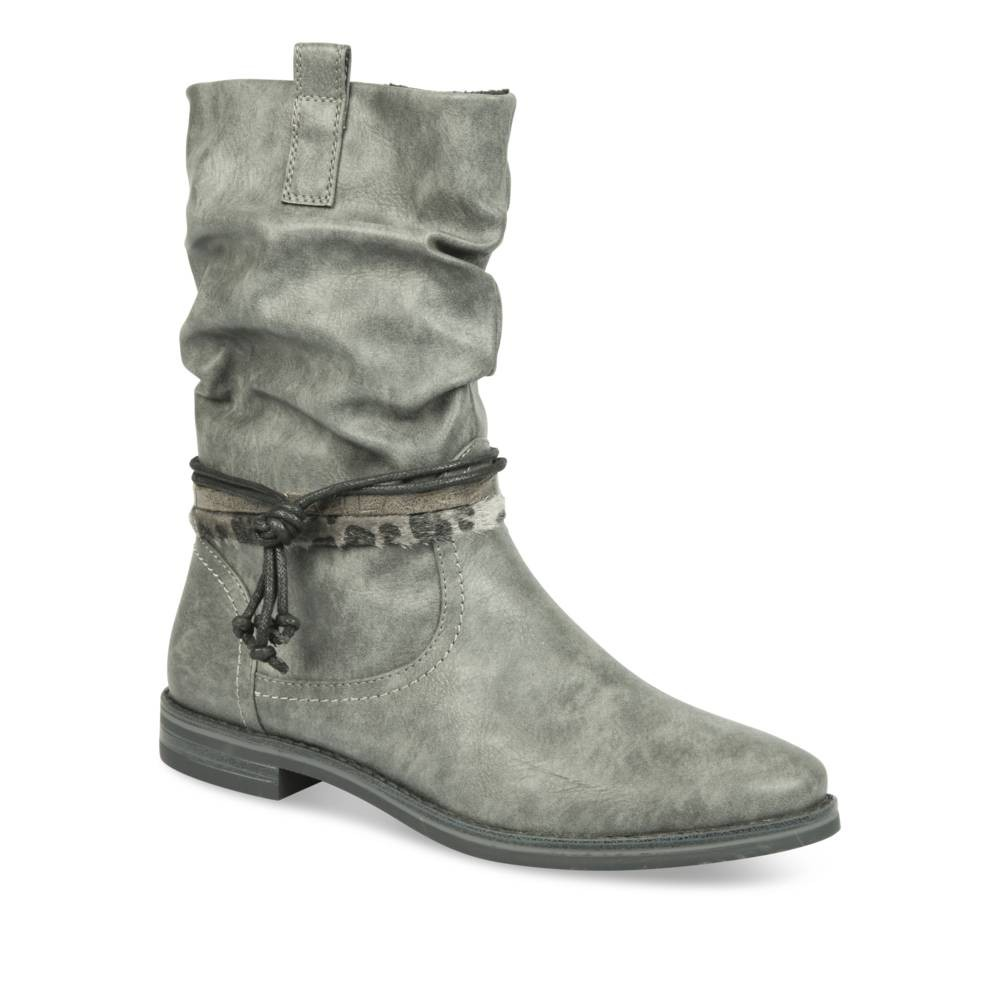 Bottines Gris Merry Scott 8GKFJ