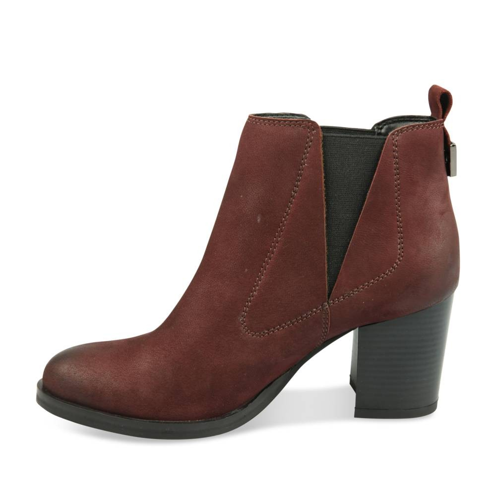 Bottines Rouge Megis Elegant