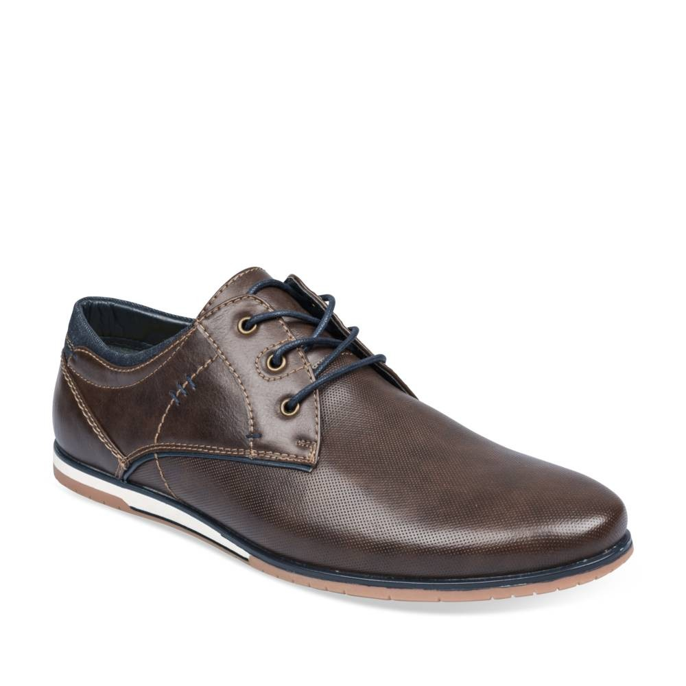 Derbies MARRON DENIM SIDE délogeant Réduction De 100% Authentique oQn5WmeoP