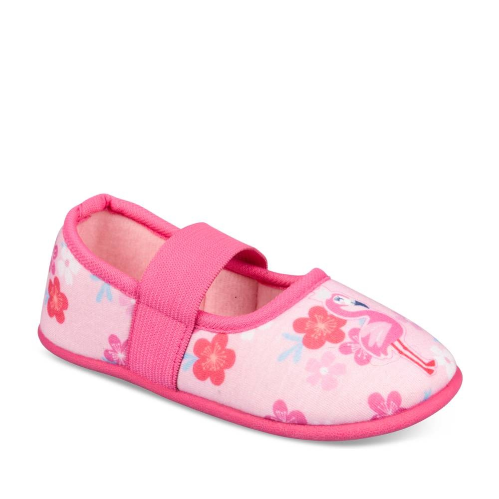 Chaussons ROSE LOVELY SKULL