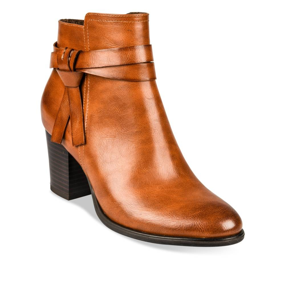 Bottines à COGNAC talon boots ANGELA et Bottines THOMPSON 3RL4A5j