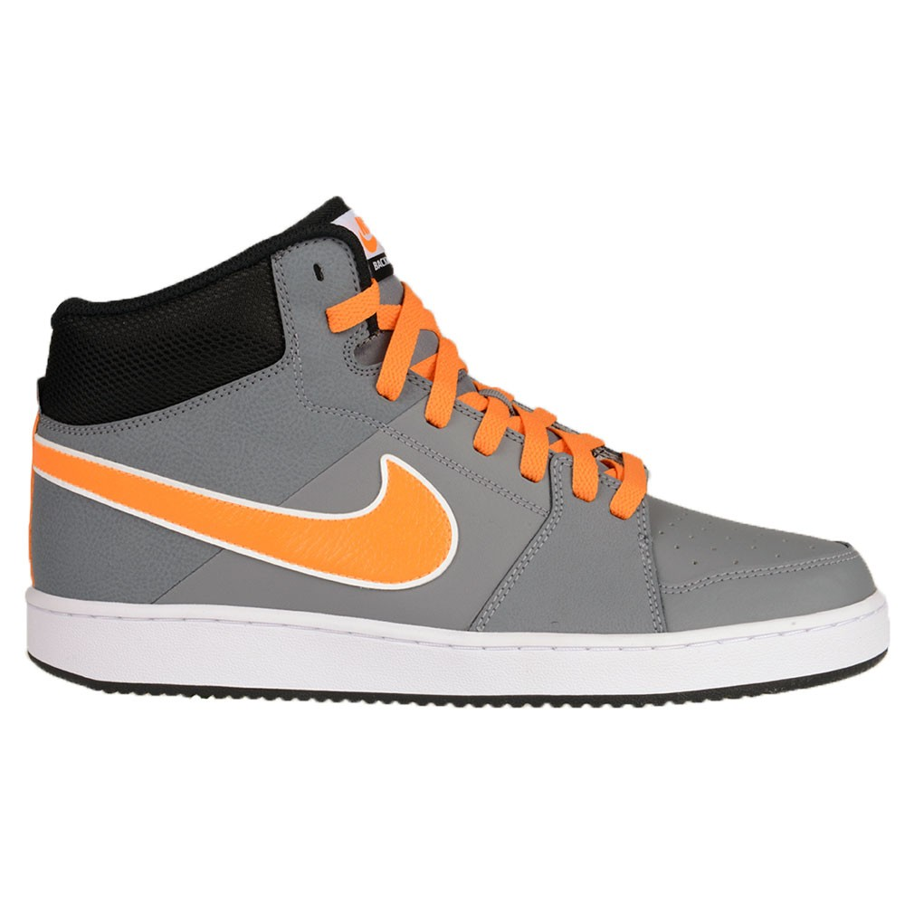 huge selection of 474de ac5ac Chaussures de Skate  Basket Montante Nike GRISORANGE