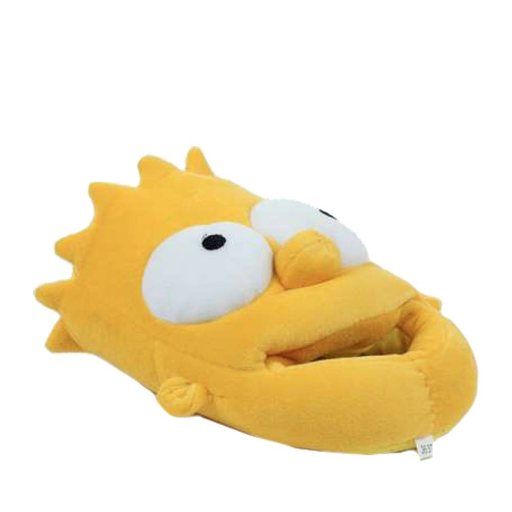 chaussons bart simpson