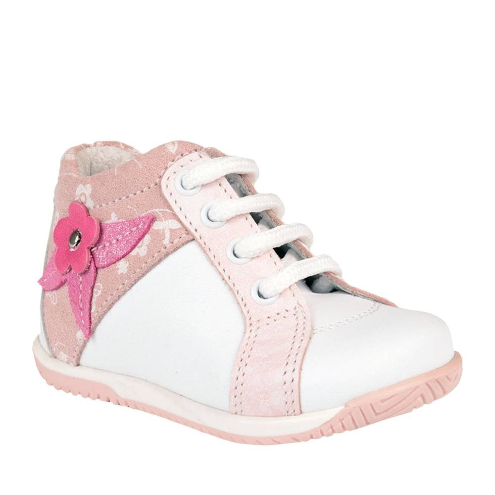 Chaussure-rose-blanche