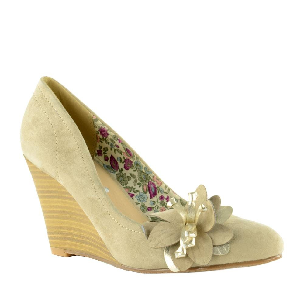 Chaussure-femme-taupe