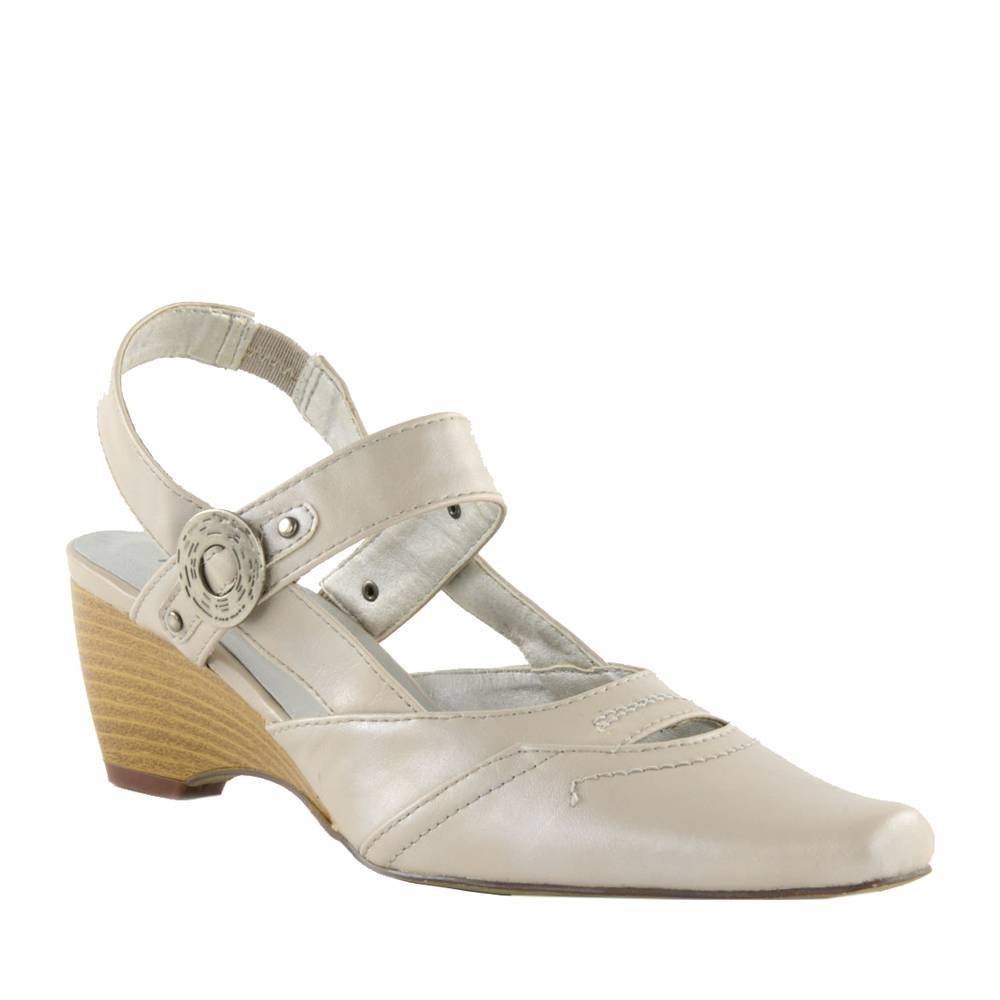 Chaussures-femme-grise