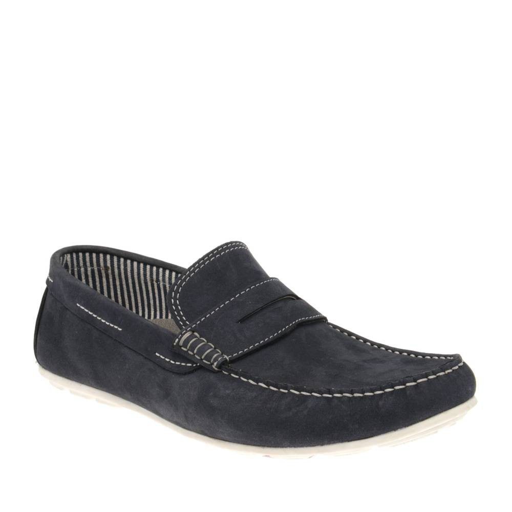 chaussure-homme-bleue