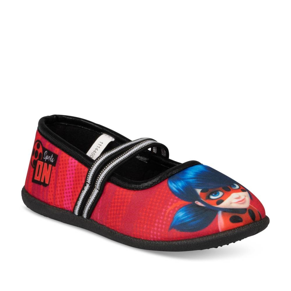 Chaussons ROUGE MIRACULOUS