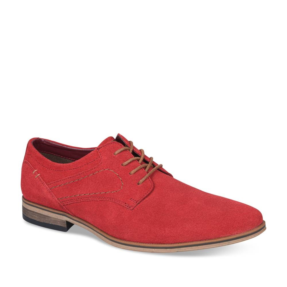 Derbies ROUGE B-BLAKE CUIR