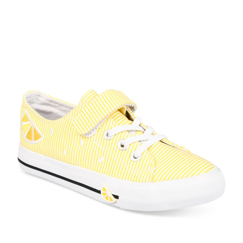 Baskets JAUNE LOVELY SKULL