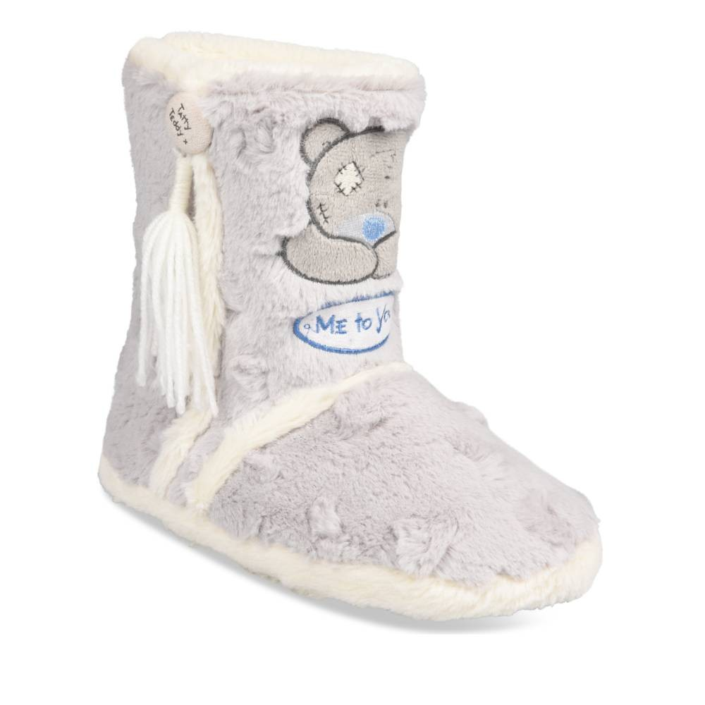 Bottillons Chaussons Gris Femme Me To You