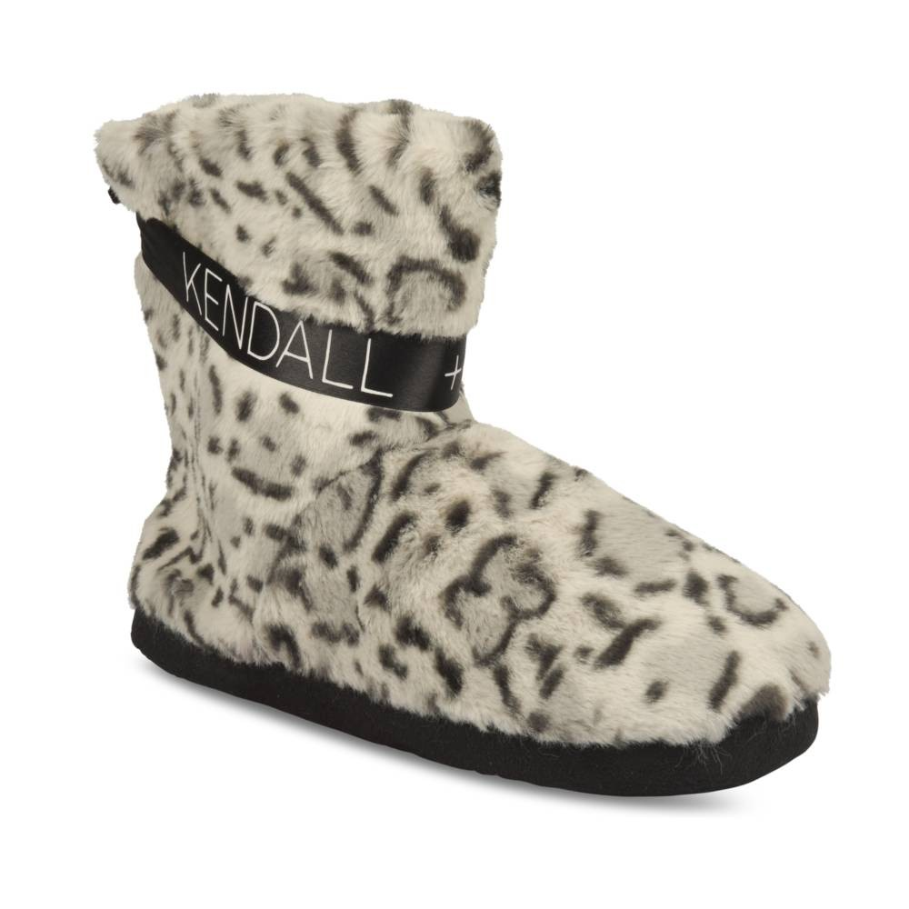 Chaussons GRIS KENDALL+KYLIE