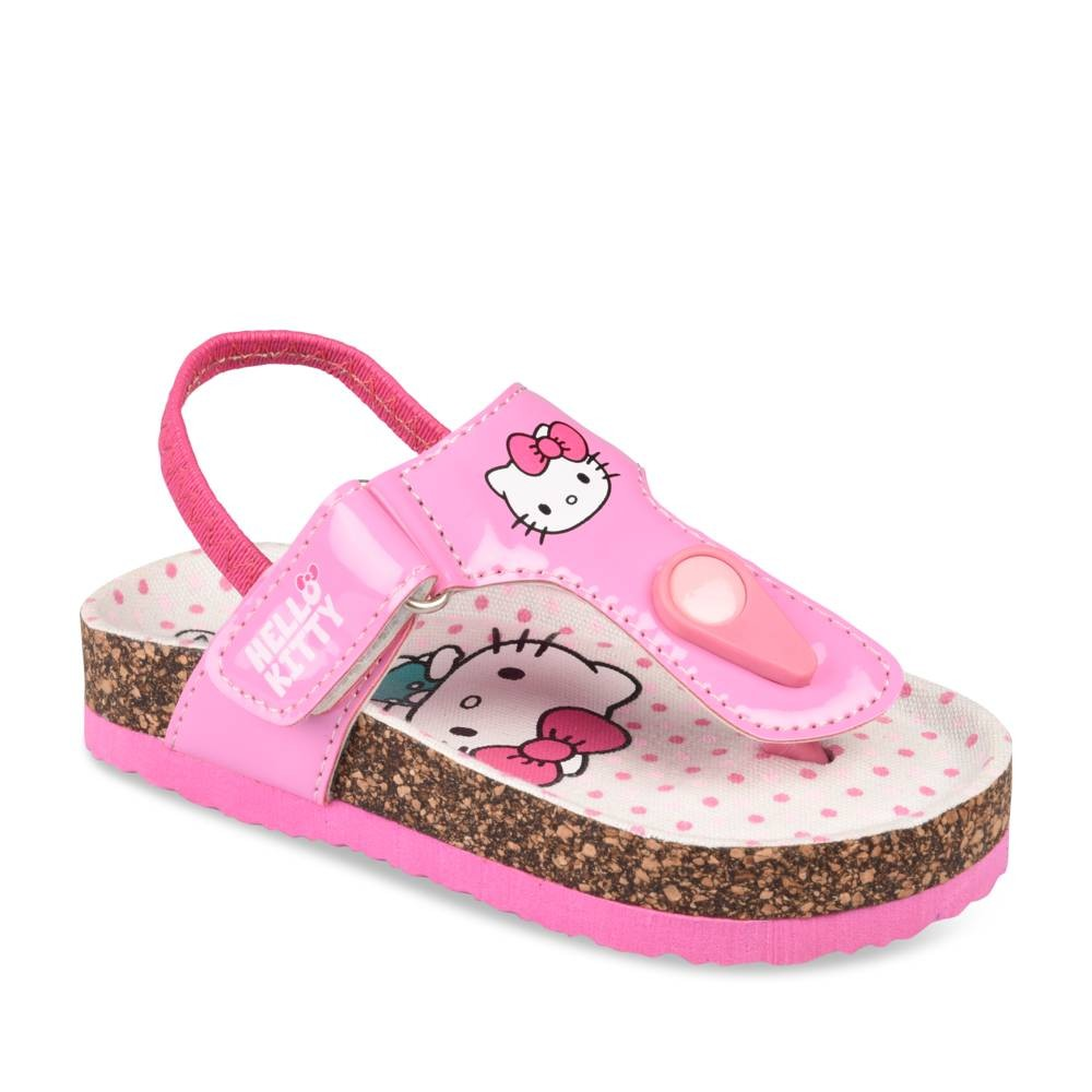 nu-pieds_rose_fille_hello_kitty