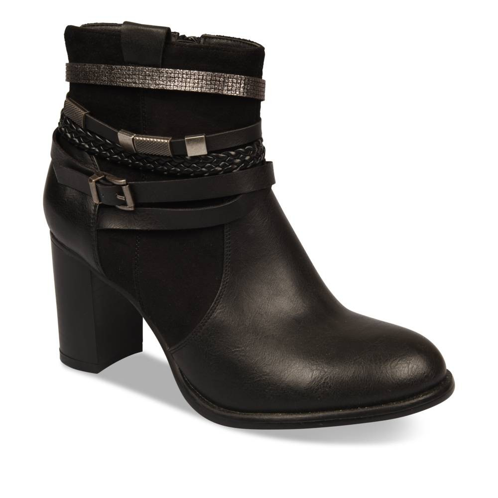 Bottines à talon NOIR MyB