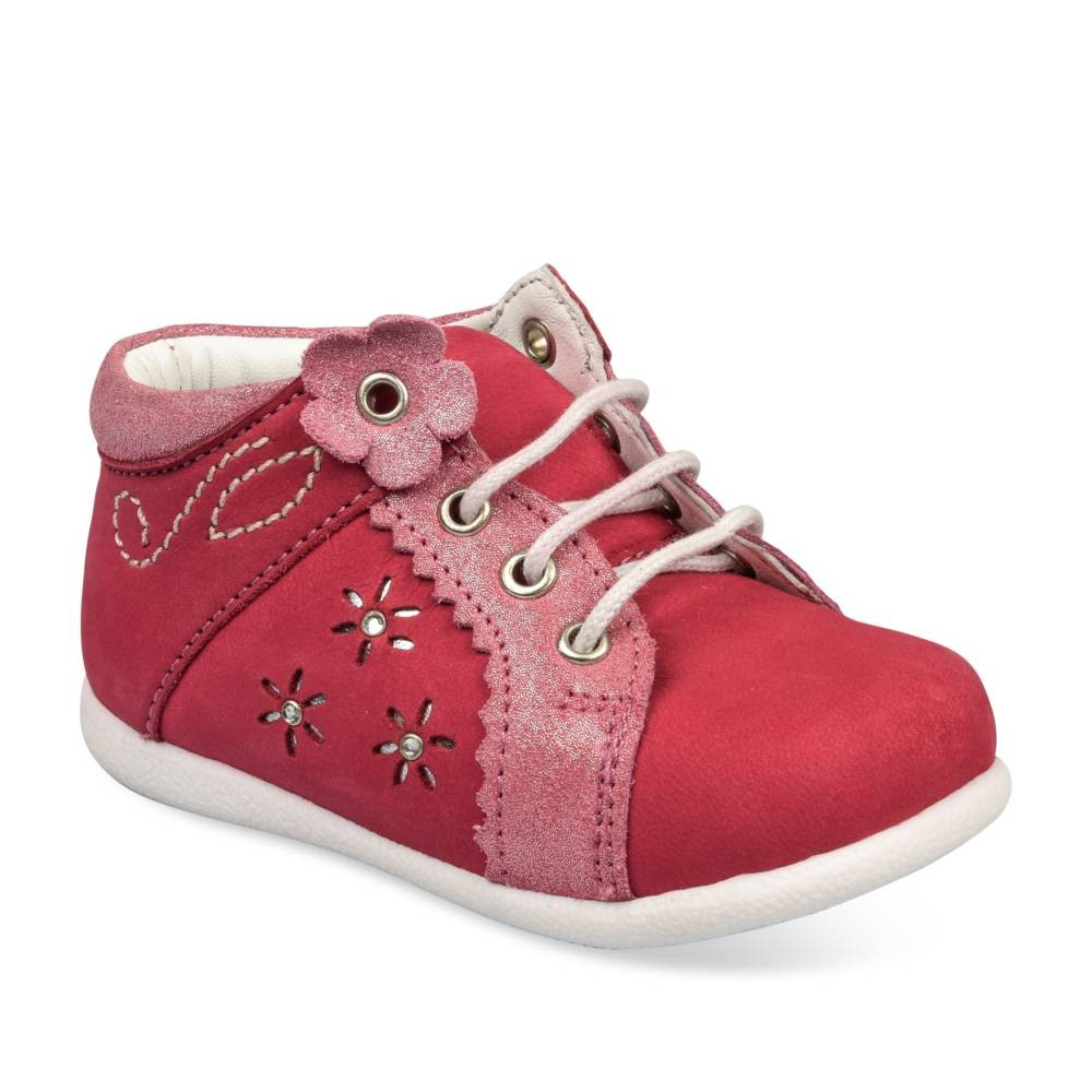 Baskets FUSCHIA FREEMOUSS GIRL CUIR