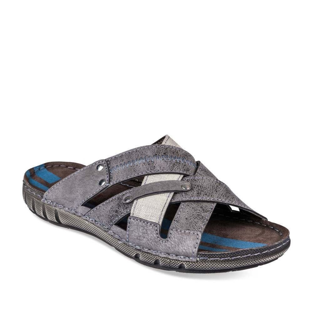 Mules GRIS DENIM SIDE