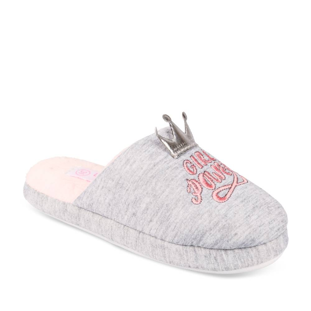 Chaussons GRIS LOVELY SKULL