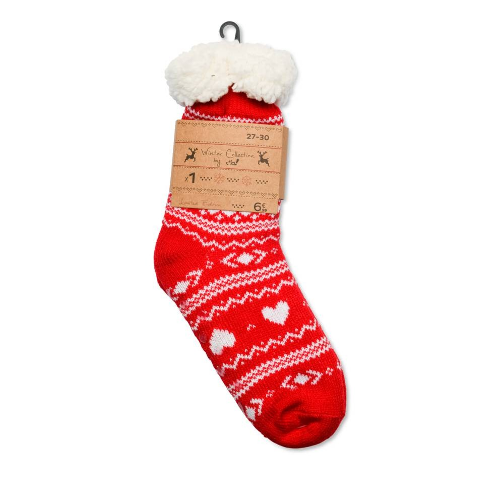 Chaussettes ROUGE MERRY SCOTT