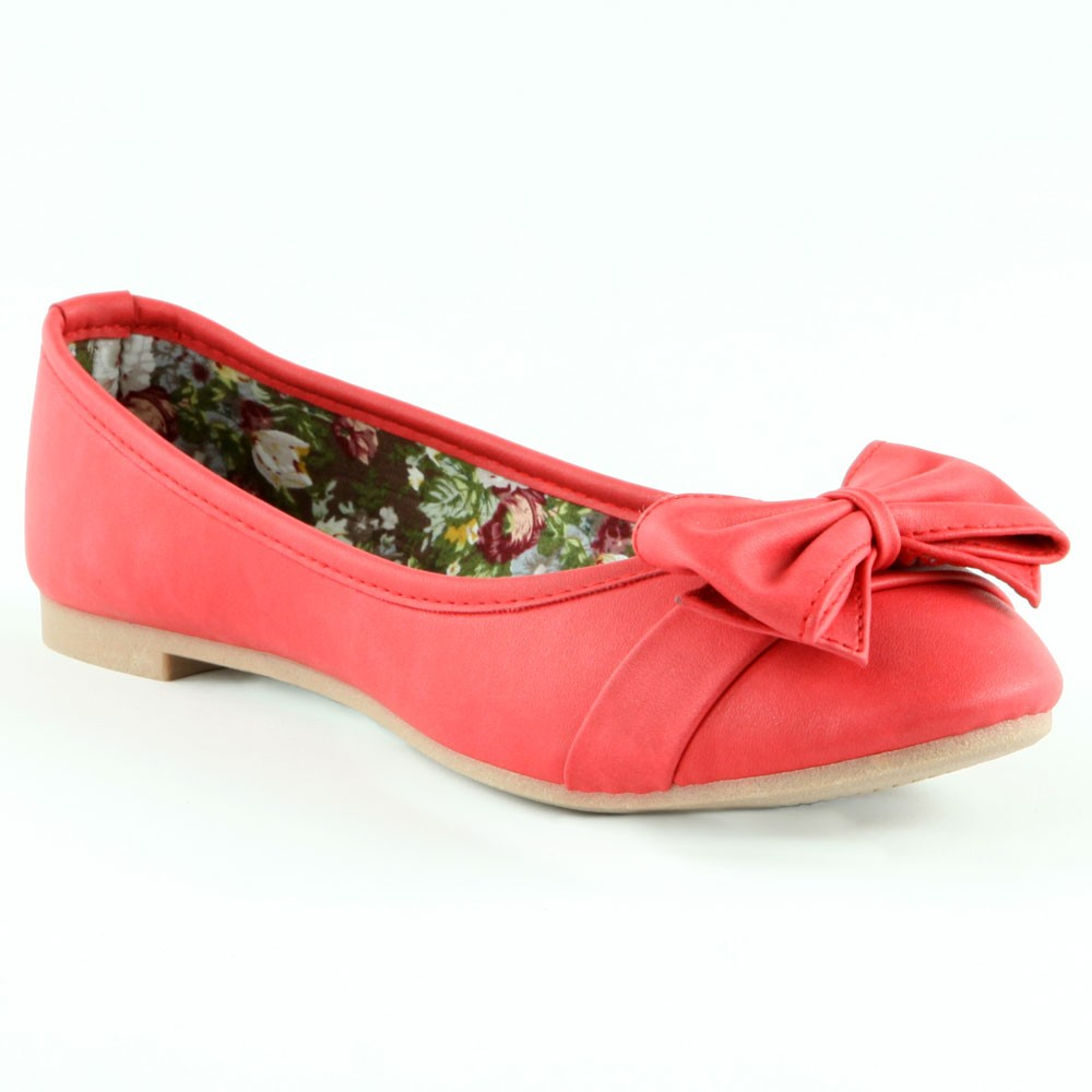 Ballerine-noeud-rouge