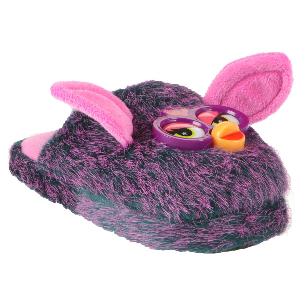 chausson furby violet