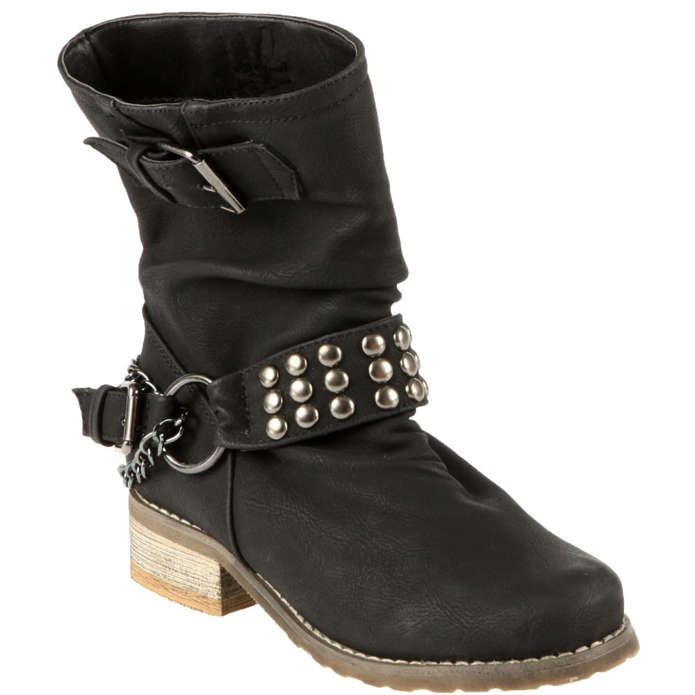 Bottines-lovely-skull