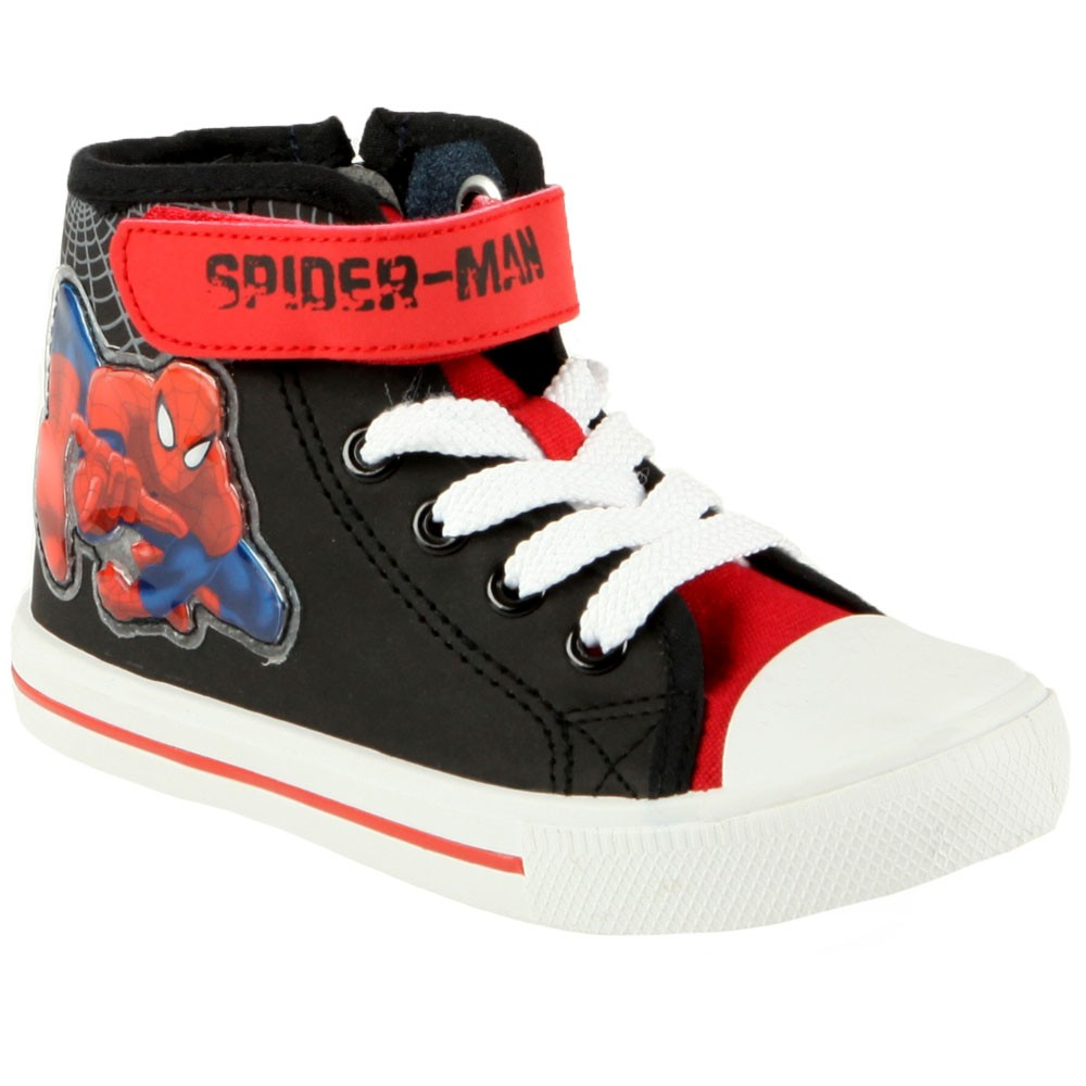 Basket-enfant-spiderman