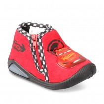 chaussons_rouge_garcon_cars