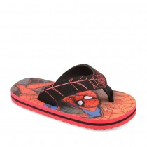 tongs_rouge_garcon_spiderman