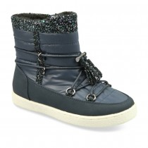 Bottines BLEU LOVELY SKULL