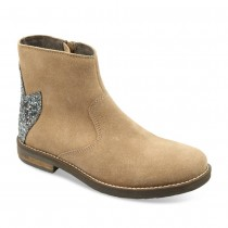 Bottines BEIGE LOVELY SKULL CUIR