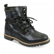 Bottines BLEU LOVELY SKULL CUIR