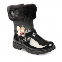 Bottines NOIR LA REINE DES NEIGES