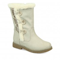 Bottines BLANC LOVELY SKULL
