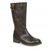 Bottines MARRON LOVELY SKULL CUIR