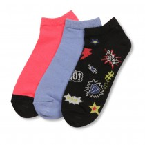 Lot de 3 paires de chaussettes MULTICOLOR LOVELY SKULL