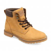 Bottines JAUNE TAMS CUIR