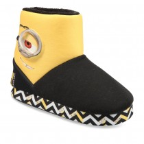 Chaussons NOIR MINIONS
