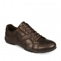 Baskets MARRON NEOSOFT HOMME