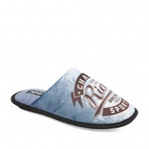 Chaussons BLEU DENIM SIDE