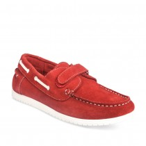 Mocassins ROUGE TAMS CUIR