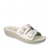 Mules VIOLET GREEN RELAX