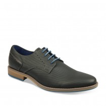 Derbies NOIR DENIM SIDE