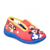 Chaussons ROUGE MICKEY