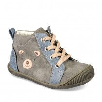 Bottines GRIS FREEMOUSS BOY