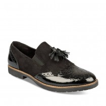 Mocassins NOIR MERRY SCOTT