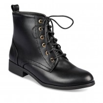 Bottines plates NOIR MERRY SCOTT